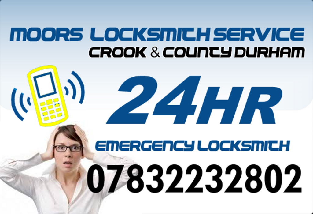 24Hr Emergency locksmith in Spennymoor County Durham